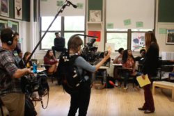 Filmmakers filmed inside a Chicago high school for one year to produce the