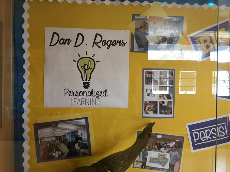 Dan D. Rogers Elementary has recorded a spike in parent interest and incoming student transfers snice it embraced personalized learning.