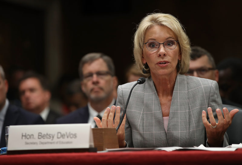 Betsy Devos Has Rural Problem Column >> We Need An Education Commission To Take A Critical Look At Private