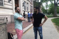 "Dartmouth freshmen Daniel Inoa and Natan Santos had uncomfortable moments as they were told: ""You look suspicious."""