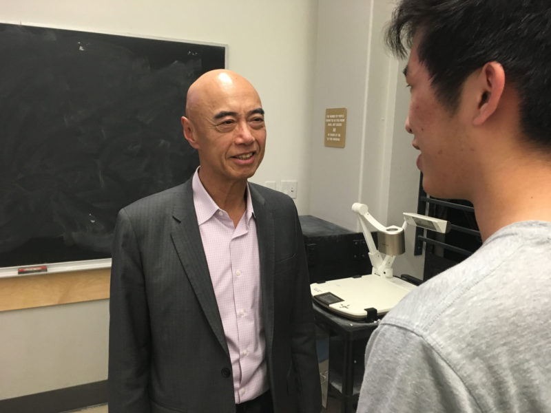 Academia is beginning to offer courses in blockchain technology. Po Chi Wu, a visiting professor at the University of California, Berkeley, teaches a course about blockchain entrepreneurship.
