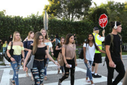 August 15, 2018 — The first day of school at Marjory Stoneman Douglas High School in Parkland, Fla.
