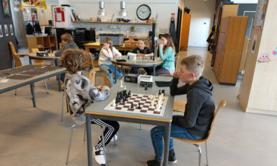 Students build their collaborative skills through regular group work including immersive week-long projects held throughout the school year.