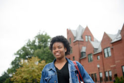 Myiesha Robateau wasn't offered enough financial aid to go to a private college and instead began this fall at the public University of Massachusetts, Amherst.
