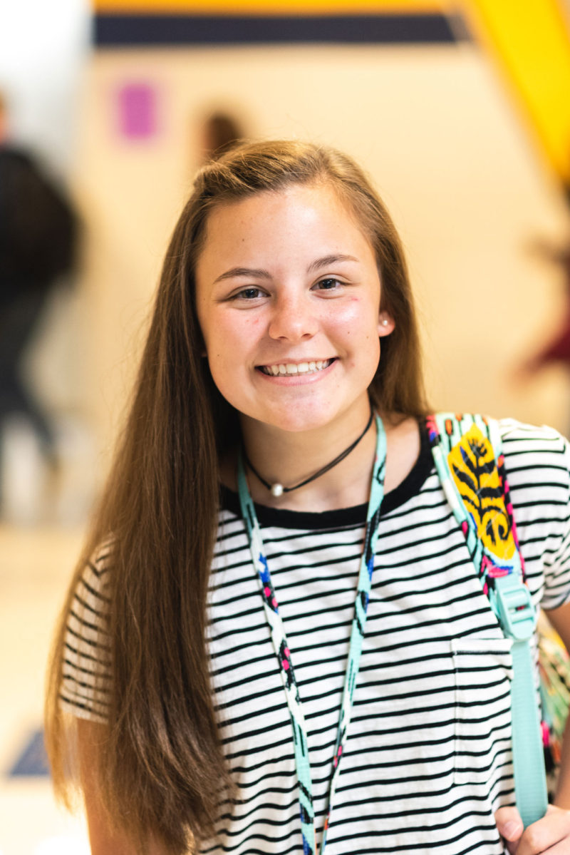Walker Valley High School student Michaela Boggess, 16, hopes to study industrial engineering at the University of Tennessee.