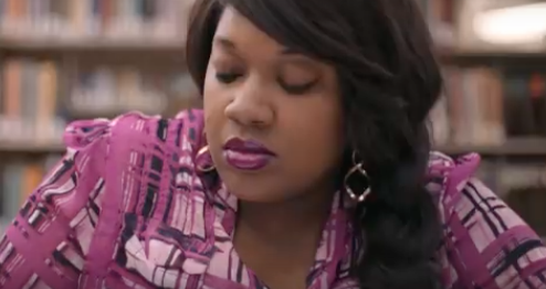 "Clarissa Santana is a mother of three who is frustrated when she returns to college at the University of Akron and learns her credits from a for-profit school don't transfer. She tells her story in the new documentary ""Unlikely."""