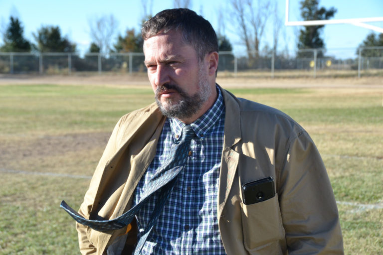 Matthew Snyder applied for the job of superintendent in Cheraw, Colorado. The school board liked him (and the idea of saving money) so much that it asked if he'd serve as principal too.