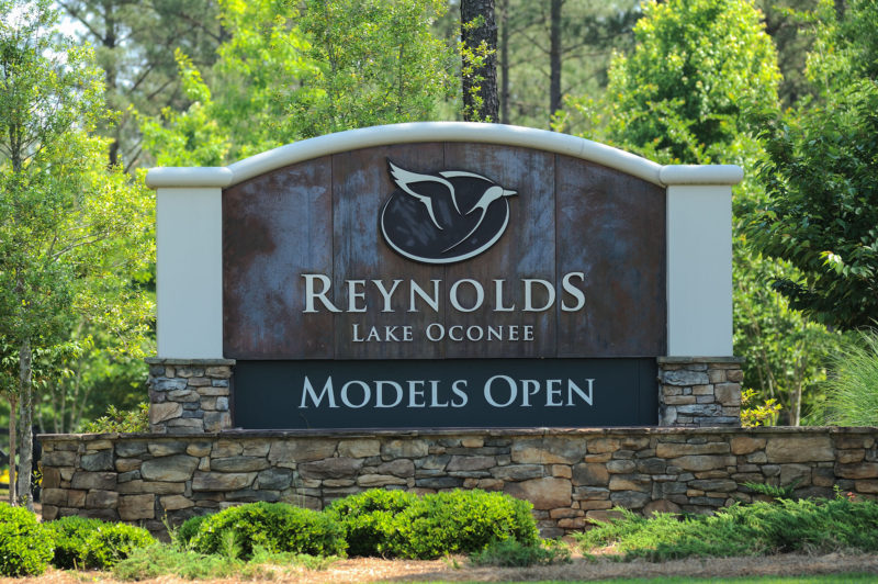 Reynolds Lake Oconee, originally Reynolds Plantation, has been building luxury property in Greene County since the 1980s.