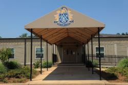 Lake Oconee Academy is expanding. A new high school facility is under construction.
