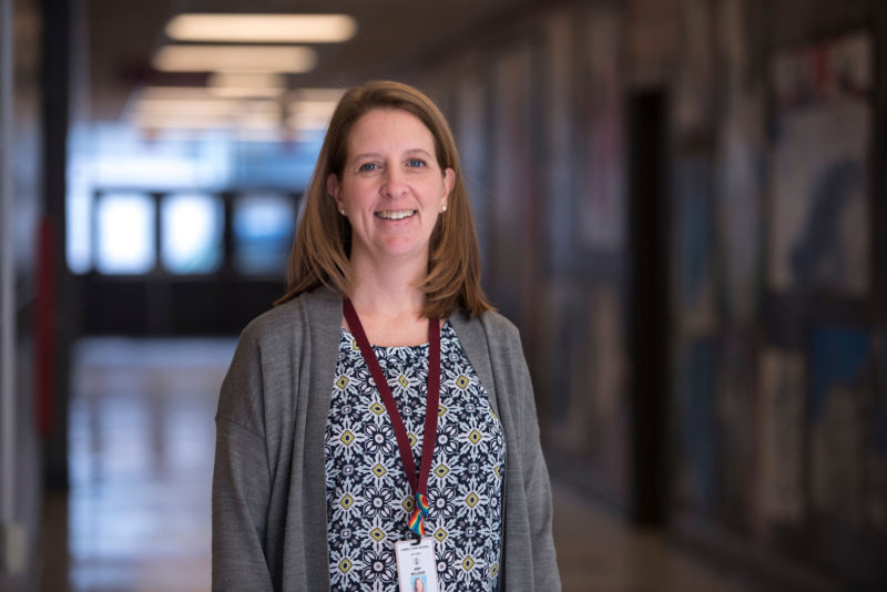 Amy McLeod is Lowell High School's director of curriculum, instruction and assessment.