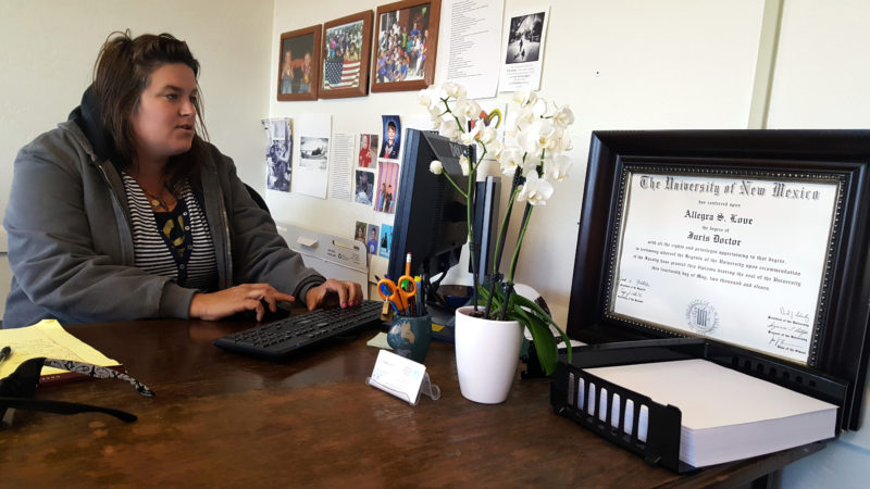 Attorney Allegra Love has become a resource for teachers and administrators in Santa Fe and around the country whose school communities are coping with deportations and immigration policy threats. Her nonprofit Santa Fe Dreamers Project provides free legal help for undocumented immigrants.