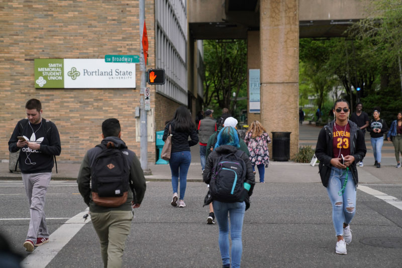 Portland State University, where the average age of students is 27 — including military veterans, parents, and people who work full time. With the number of older students growing, the university is one of only a few that offer targeted support for them.
