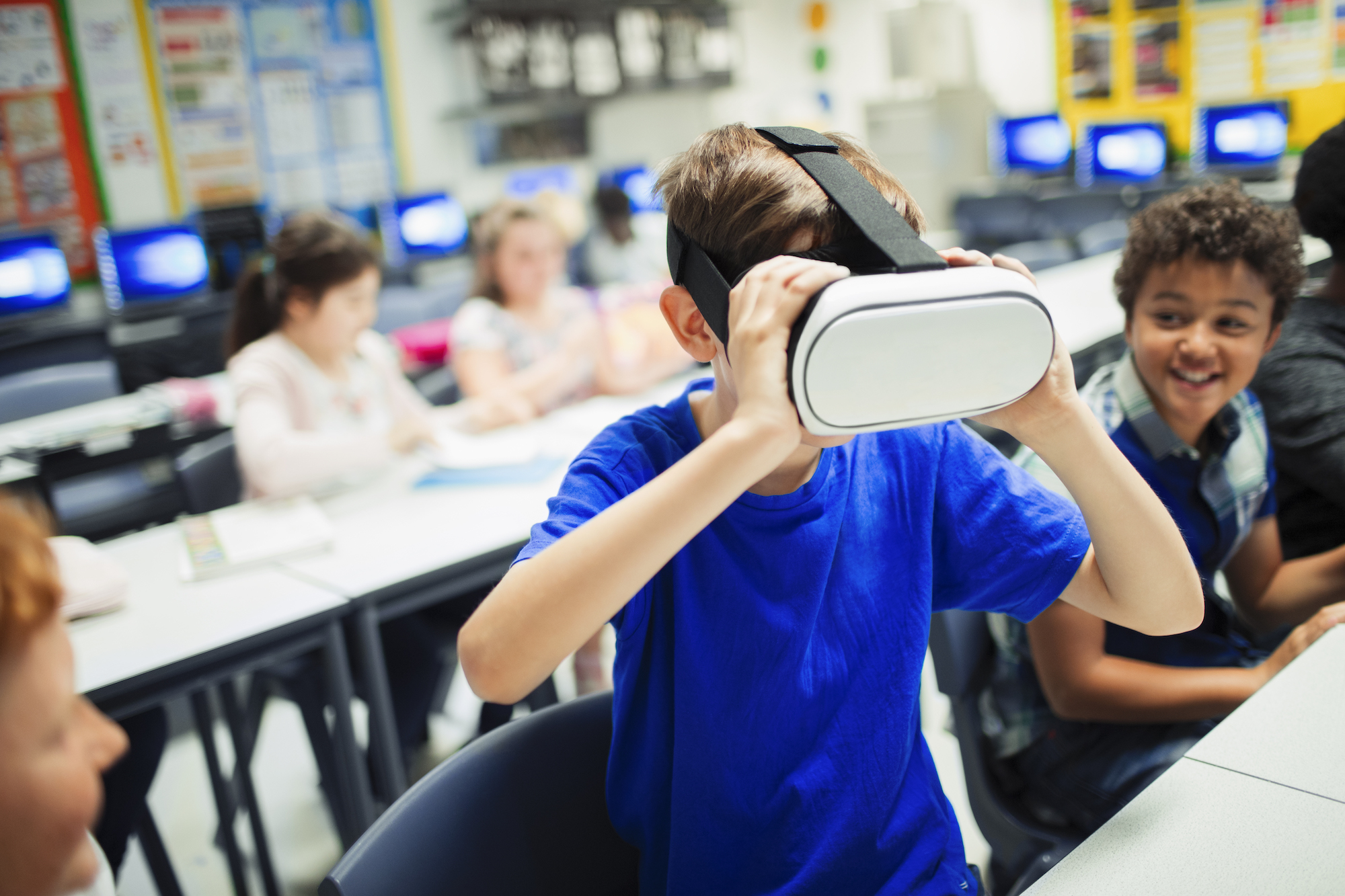 Using virtual reality to help students with disabilities