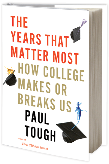 Do U.S. colleges reinforce or reduce inequality? Paul Tough seeks answer