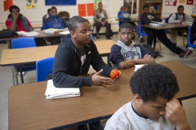 black male students