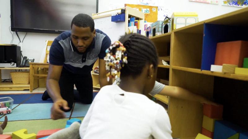 male early childhood teachers