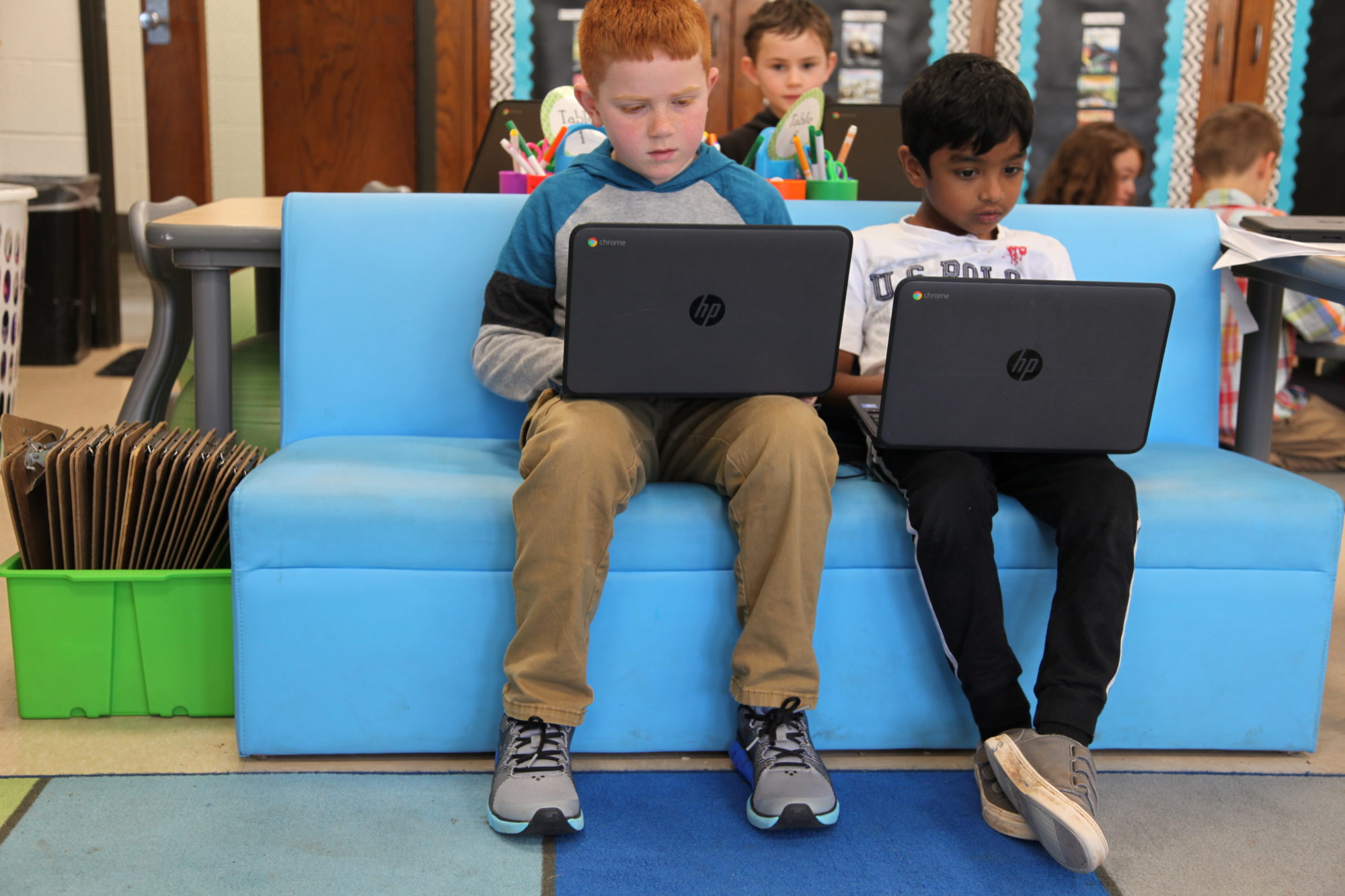 Schools Rethinking Classroom Design To Encourage Collaboration