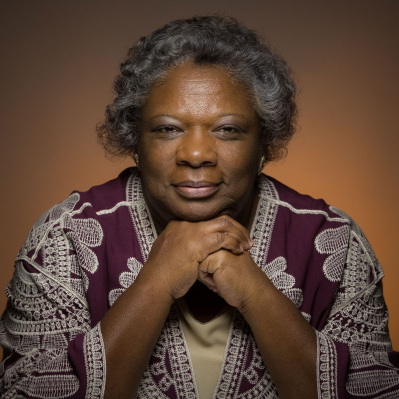 Leona Tate, 64, who helped to desegregate the Deep South when she was six years old.