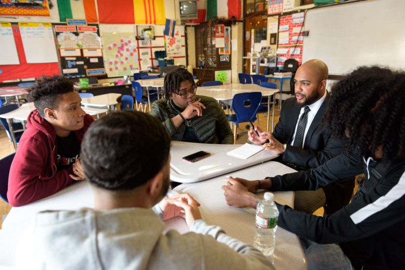 Teachers go to school on racial bias