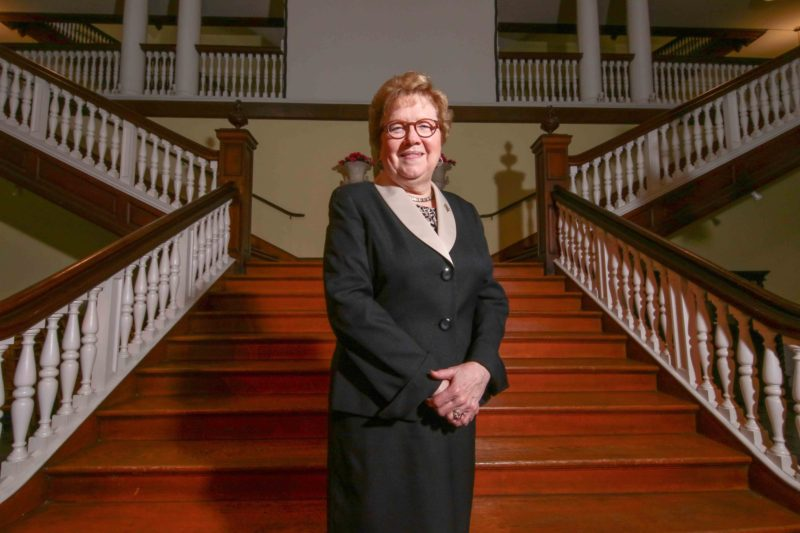 """Chestnut Hill College President Carol Jean Vale says colleges need to do a better job helping students graduate on time. """"Somehow the message was given, it's all right to do this. It's all right to take longer,"""" she says. """"Well it's not all right. It's not all right. It's just too costly."""""""