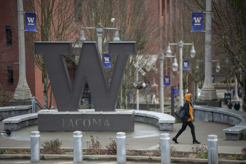 "The University of Washington-Tacoma, which began a program in January with the local housing authority that reserves 52 ""micro-units"" — 255 square feet apiece — for homeless students or students at risk of becoming homeless."