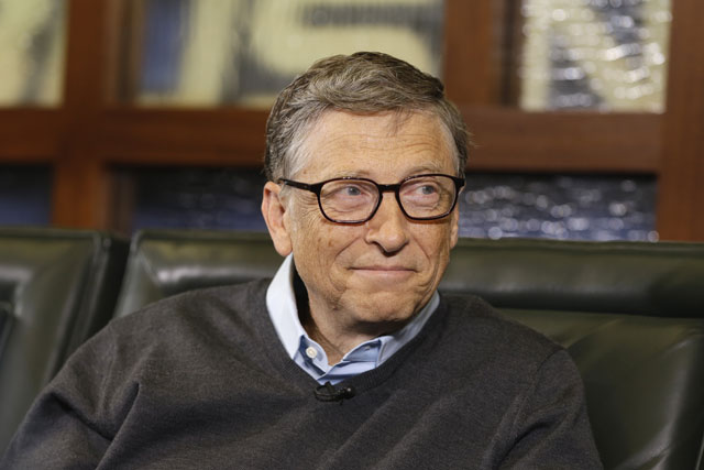 Bill Gates (AP Photo/Nati Harnik)