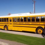 So far, two buses in the Coachella Valley Unified School District have Wi-Fi technology. The district is still working on how to best use the technology on buses. (Credit: Nichole Dobo, The Hechinger Report)