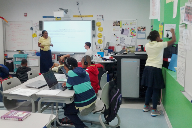 after 20 years a teacher reinvents her classroom using technology
