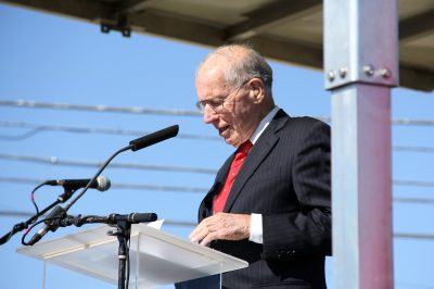 Former Gov. William Winter hopes the Magnolia State will get a new start and help educate the next generation once new civil rights museum opens in Jackson. (Photo: Jackie Mader)