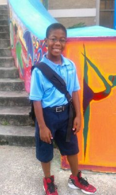 Eleven-year-old Quincy Lindsey was one of hundreds of New Orleans students who returned to school in July this year. Longer school years and days are part of a growing national movement as school leaders add time in an effort to boost academic results. (Photo courtesy of the Lindsey family)