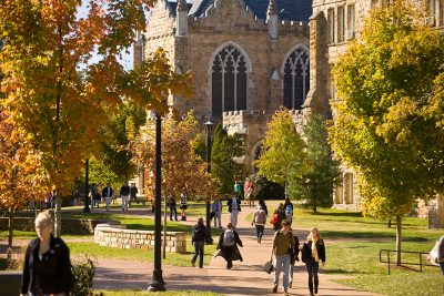 At a time when students and families are fed with up with rising college costs, University of the South in Sewanee, Tenn., cut tuition 10 percent last year and is promising to keep costs unchanged for entering freshmen for the next four years. (Photo courtesy Sewanee: The University of the South)