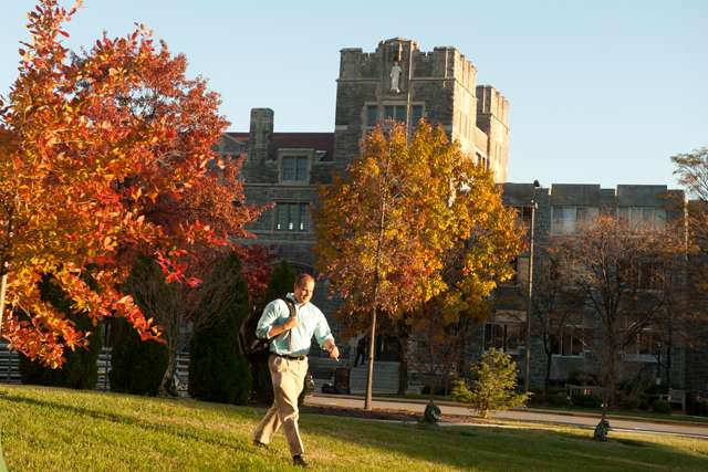 Catholic University of America in Washington. Catholic universities are among those charging low-income students the highest prices, federal data show. Photo: Catholic University.