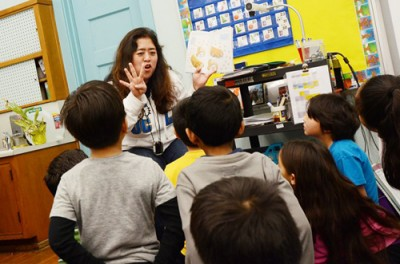 Sachiko Miyaji was one of five teachers in the pilot evaluation program last year at Melrose Elementary School. She said student test scores don't measure the vibrancy of what's happening in the classroom. Credit: Carlos A. Moreno / The Center for Investigative Reporting