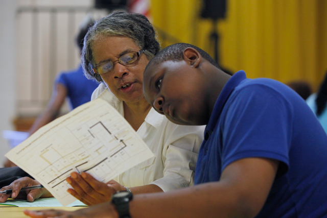 At Newark school striving for turnaround, a 12-year-old's fragile success
