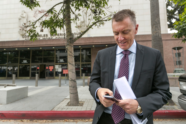 Los Angeles Unified School District Superintendent John Deasy. File photo. (AP Photo/Damian Dovarganes)