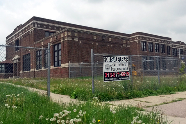 Detroit Public Schools has closed more than 80 schools due to severe drops in enrollment. (Photo: Sarah Butrymowicz)