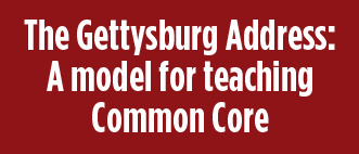 Learn more about David Coleman's approach to teaching the Gettysburg Address.
