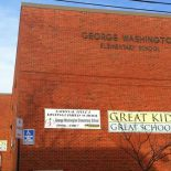 "Investigators found ""clear, statistical evidence"" of cheating on state tests at George Washington Elementary, a Blue Ribbon School, in Baltimore. (Photo by By Greg Toppo, USA TODAY)"