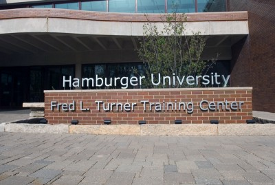 Hamburger University. (Photo courtesy McDonalds)