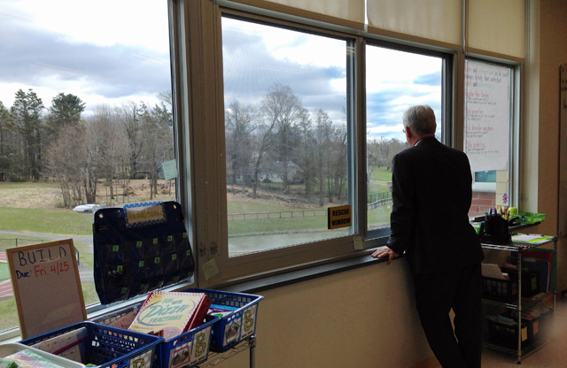 Superintendent Ken Eastwood is using a Race to the Top district grant to infuse technology into teaching and learning for students at New York's Middletown Enlarged City School District. (Photo: Meghan E. Murphy)