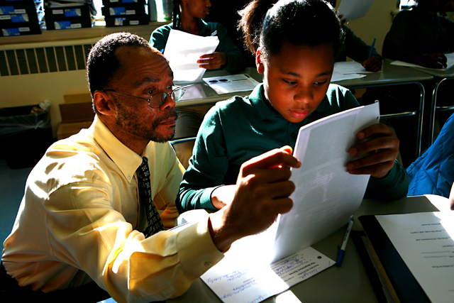 Clarence McNeil, who made a mid-career switch to teaching from law, says educators can't possibly work hard enough to close the achievement gap. (Photo: Uncommon Schools)