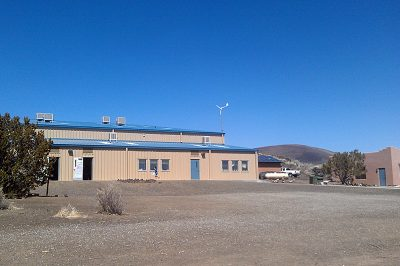 The Star School, a solar and wind-powered charter elementary school off the southwest corner of Navajo Nation, will have to balance new state standards with teaching Native culture and values. (Photo by Sarah Butrymowicz)