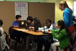 Venture Academy in Minneapolis relies, in part, on computer programs to help students who are far behind catch up. (Photo courtesy Venture Academy)