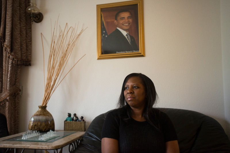 Rita Green, president of the PTSA at Rainier Beach High School, at home in Seattle, Washington. (Photo: Alexandra Hootnick)